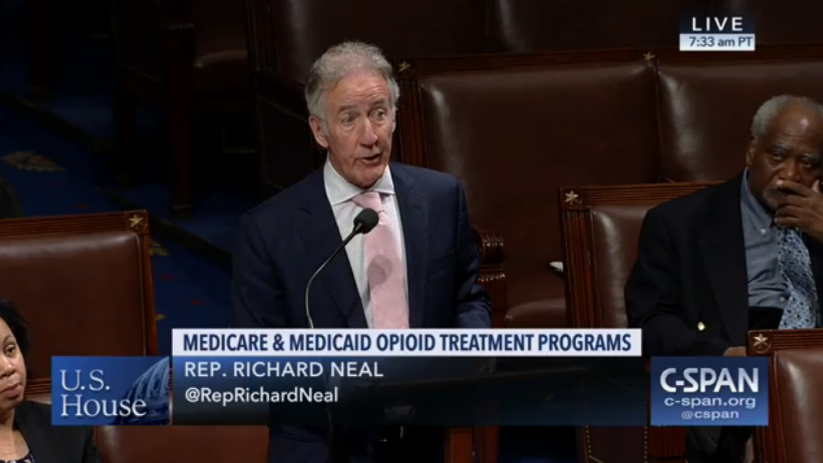 Rep. Neal Speaking on House Floor